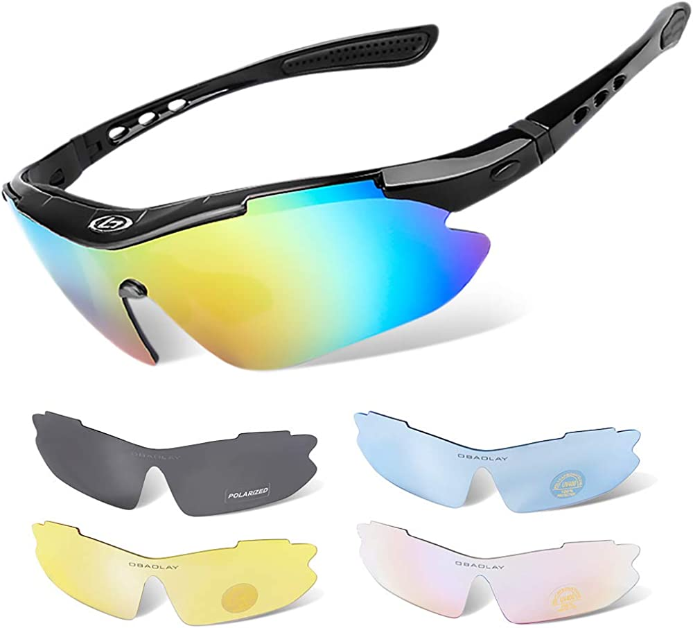 Polarized Sports Cycling Genuine Classic Sunglasses for Men Int 5 Women with and