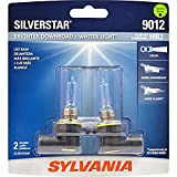 SYLVANIA - 9012 SilverStar - High Performance Halogen Headlight Bulb, High Beam, Low Beam and Fog Replacement Bulb, Brighter Downroad with Whiter Light (Contains 2 Bulbs)