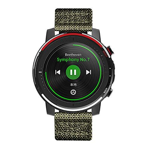 BINLUN cinturini per orologi compatibili con Amazfit Bip/GTS/GTR 42mm 47mm,Amazfit Pace/Stratos Smartwatch NATO Zulu Nylon spesso G10 Cinturini balistici premium originali di ricambio 20mm 22mm