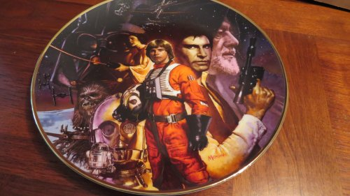 The Hamilton Collection Star Wars Trilogy Collector Plate