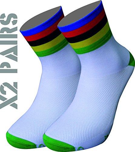 TKS Pack x2 Pares Calcetines técnicos diseño Campeon del
