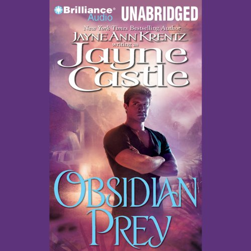 Obsidian Prey audiobook cover art