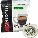 Biespresso 150 cápsulas de café con filtro de papel ESE de 44 mm, sabor descafeinado