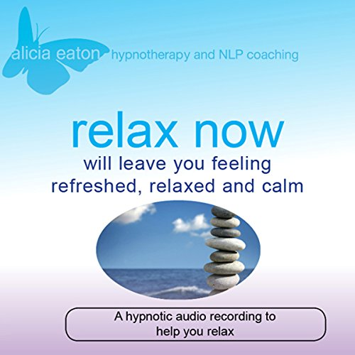 Relax Now audiobook cover art