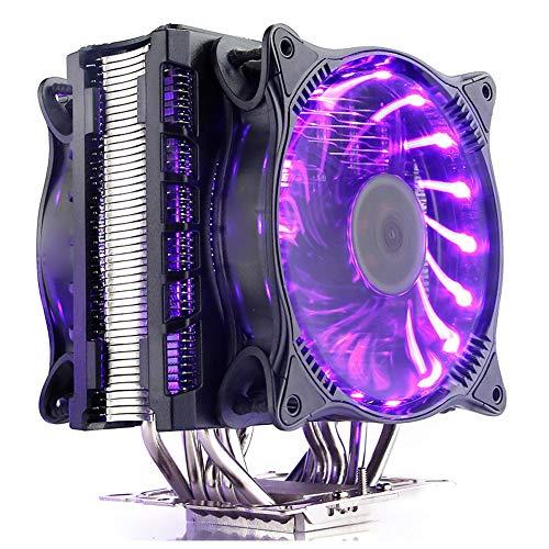CPU Cooler Fan extreem hoge koelprestaties Cpu Radiator 12CMRGB4 Pin Fan Multi-platform ondersteuning Super warmteafvoer