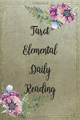 Tarot Elemental Daily Reading: Tarot Journal logbook