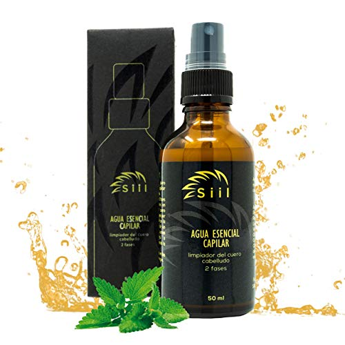 Locion anticaida - 50ml. Tonico capilar para la limpieza del cuero cabelludo, crecimiento del cabello, función aromaterapeutica. Regenerador capilar 100% natural certificado por la ciencia.