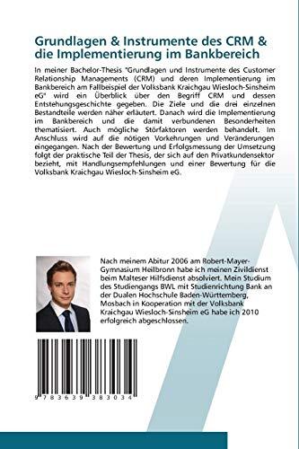 『Grundlagen & Instrumente des CRM & die Implementierung im Bankbereich: Customer Relationship Management (CRM) im Bankbereich am Fallbeispiel der Volksbank Kraichgau Wiesloch-Sinsheim eG』の1枚目の画像