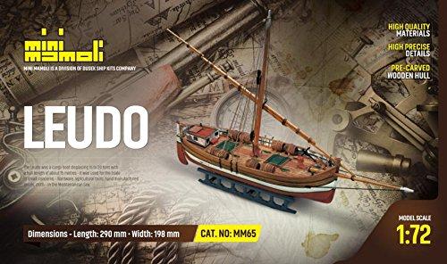 MINI MAMOLI - Modello Kit Barca Il LEUDO Serie Scala 1:72 - DUS_MM65