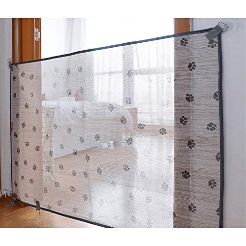 GZGZADMC Hunde-Transportbox für Haustiere, 104,1 cm, tragbar, Netz, faltbar, Sicherheitsnetz, Haustier-Isolationsnetz, Hundegitter für Haus und Treppe/Tür.