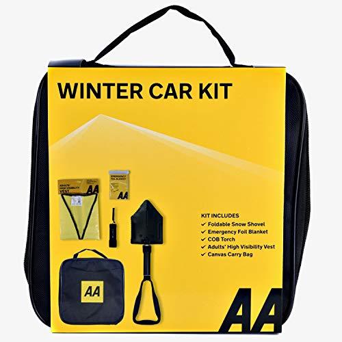 AA Kit d'hiver pour voiture, avec pelle à neige pliante