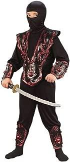 Ninja Warrior Child Costume Red - Large