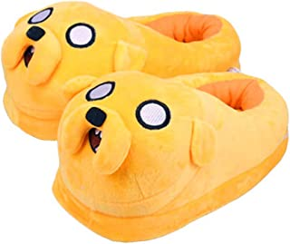Chaussures Adventure Time Indoor Shoes Chaussons en Peluche Anime