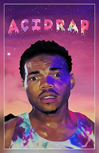 """A-ONE POSTERS Chance the Rapper - Acid Rap (Rolled) Poster, Matte Print 12"""" by 18"""" BY"""