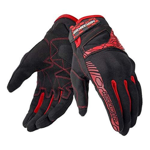 Bruce Dillon Motorradhandschuhe Motorrad Touchscreen Motocross Handschuhe Atmungsaktiv Rennreiten...