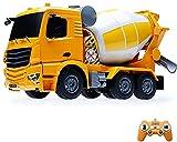 M-zen RC Car Simulation Engineering Modelo para Niños Camión Mezclador Kid Diecast Metal Cars Ingeniería De Vehículos Juguetes De Construcción Niños Educación Y Desarrollo Niños