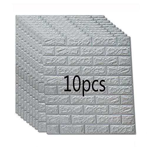 K&F-qianzhi Panel de Pared 3D Panel de ladrillo de mármol de imitación...