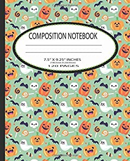 Composition notebook: Wide ruled composition notebook,Nifty Wide Blank Lined Workbook for Teens Kids Students Girls for Ho...