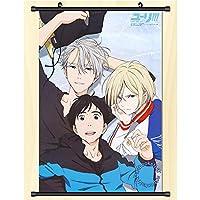 ユーリ!!! on ICE 壁掛けHdポスターオタクアニメーション周辺機器ギフト 50x75cm