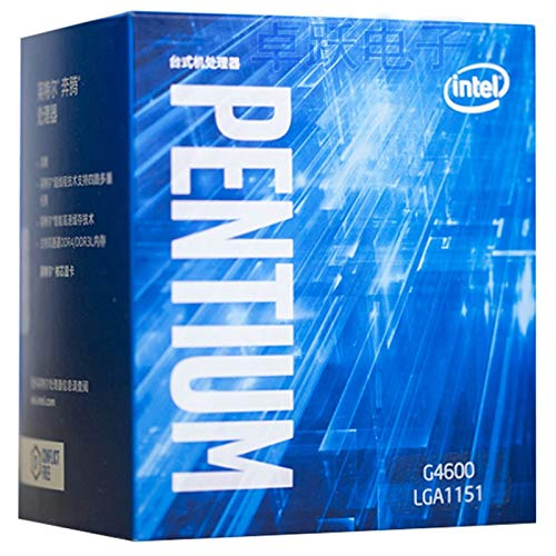 Processor G4600 CPU Boxed with Radiator LGA 1151-land FC-LGA 14 nanometers Dual-Core CPU