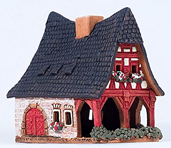 Unique Handmade Cone Incense Burner And Incense Cone Holder For Any Room Decor This Incense Holder Is The 3 5 Inches Height Miniature Copy Of The Old Smithery In Rothenburg