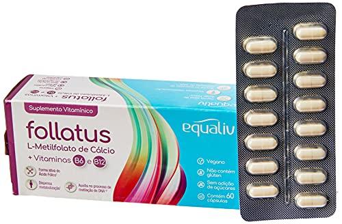 Follatus Suplemento Vitamínico 60 cápsulas Equaliv