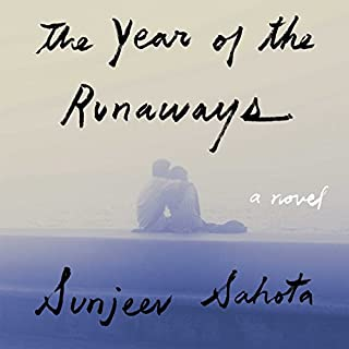 The Year of the Runaways audiobook cover art