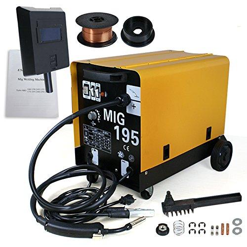MIG-195 GAS / NO GAS DUAL MIG WELDER FLUX 220V 190 AMP