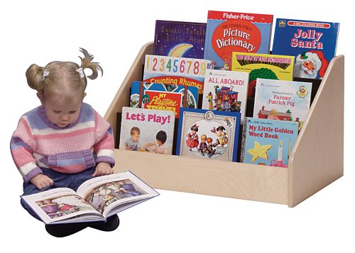 Steffy Wood Products Toddler Low Book Display