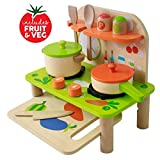 Kids Kitchen Toy Toddler Play Kitchen Playset for Kids - Toy Kitchen Set