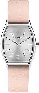 PAUL HEWITT Reloj de muñeca para Mujer en Acero Inoxidable Modern Edge Silver Sunray - Reloj de Pulsera Plateado con Corre...