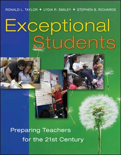 Exceptional Students: Preparing Teachers for the 21st...