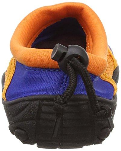 BECO Badeschuhe, Surfschuhe für Kinder,  blau, orange - 3