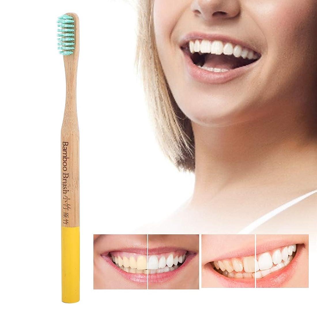 病スクリーチテロリスト歯ブラシソフト細毛竹柄歯ブラシ国内タイプ
