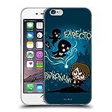 Head Case Designs Licenciado Oficialmente Harry Potter Expecto Patronum Deathly Hallows III Carcasa de Gel de Silicona Compatible con Apple iPhone 6 / iPhone 6s