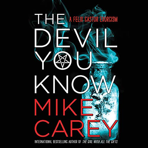 The Devil You Know                   By:                                                                                                                                 Mike Carey                               Narrated by:                                                                                                                                 Michael Kramer                      Length: 13 hrs and 49 mins     47 ratings     Overall 4.5