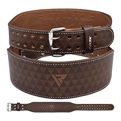 RDX Arlo 4 Gewichthebergürtel Belts, Tan/Black, S