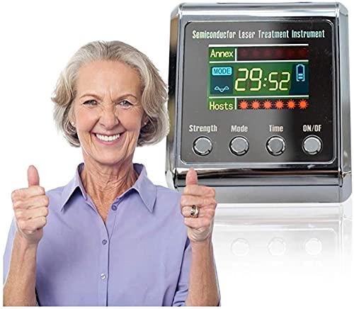 KELITINAus Reloj de Pulsera de Terapia, Tratamiento de la Enfermedad Vascular, Equipo de Fisioterapia de Congestión Nasal, Nariz Congestionada Reducir la Hipertensión Hyperglycemia Hyperlipidemia Ter