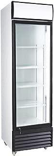 12.7 Cubic Ft. Glass Door Upright Display Beverage Cooler 360 Liter Refrigerator