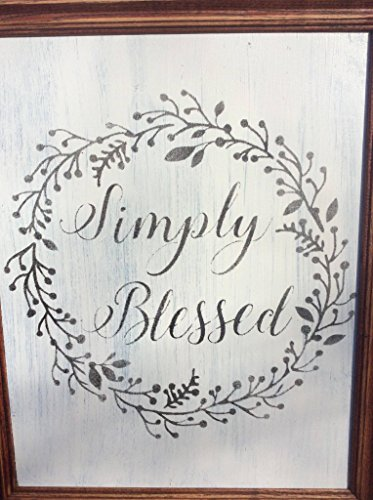 Handmade Distressed Primitive Wooden Sign, Inspirational Sign, Home Décor, Wall Décor, Wall Hanging, Spiritual Sign