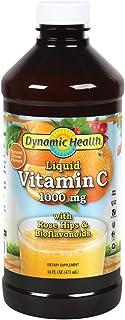 Dynamic HealthLiquid Vitamin C, 1000 mg, 16-Ounce Bottles (Pack of 3)