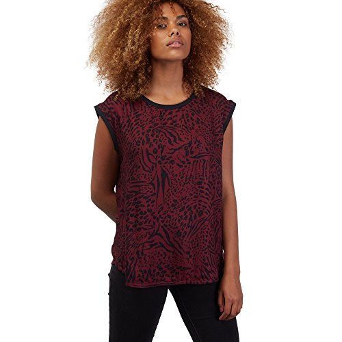 Volcom Pretty Wild Top Femme, Merlot, FR : X-Small (Taille Fabricant : XS)