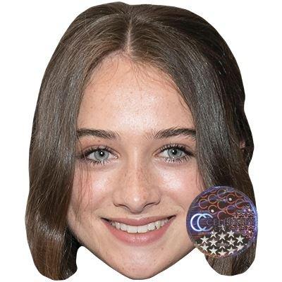 Celebrity Cutouts Raffey Cassidy Maske aus Karton