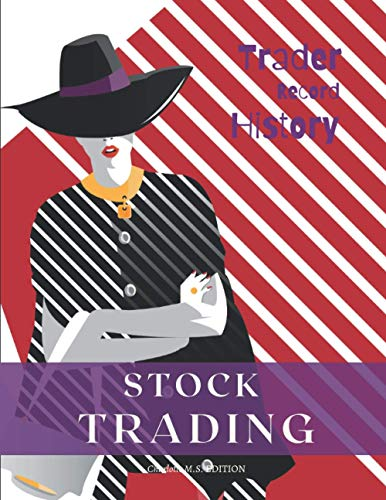 "Stock Trading - Trader Record History: Trading Log Book and Keep Track of your Trade History / 150 pages (8.5"" X 11"") (purple)"