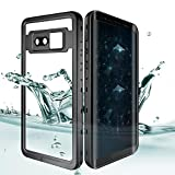 Samsung Galaxy Note 8 Waterproof Case, Effun IP68 Waterproof Case Fully Sealed Underwater Cover Dustproof Snowproof Shockproof Case for Samsung Galaxy Note 8 Black