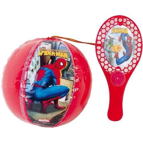 Marvel - Mirko – Spiderman Tap Ball Racchetta con Palla Gonfiabile 100225