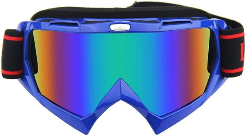 YXLZZO Ski Goggles Double Anti-fog And Anti-UV Ski Glasses Outdoor Climbing Sand-proof Goggles Ski goggles (color   B)