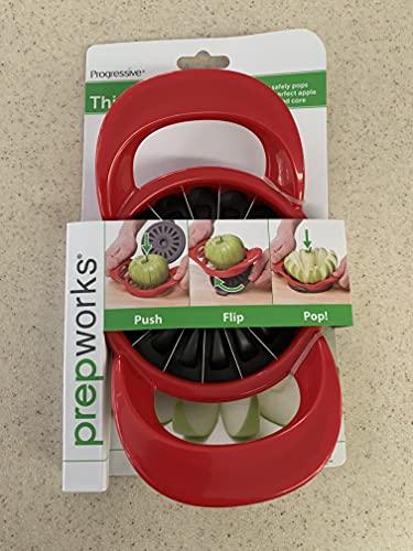 Progressive Thin Apple Slicer / Corer 16 Slices Apples & Pears Flip &...