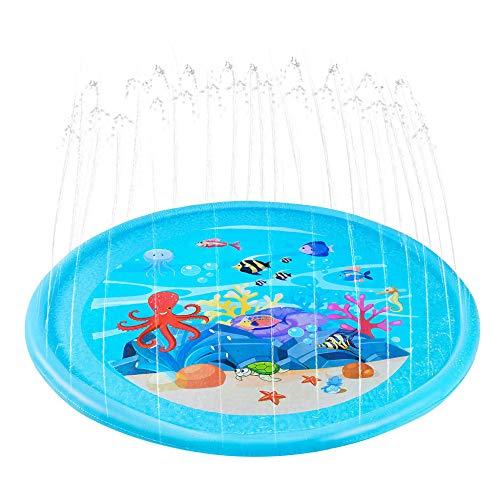 STHfficial Juegos Infantiles De Verano para Niños Juegos De Colchonetas De Agua Al Aire Libre Alfombrilla De Playa Colchoneta Inflable Spray Cojín De Agua Piscina para Nadar