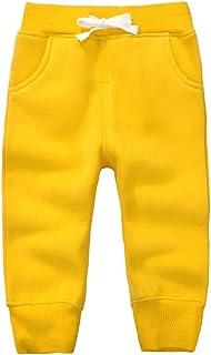 Casa Unisex Bambino Pantaloni Lunghi in Cotone, Pantaloni Sportivi da Bambini con Cintura Elastica Pantaloni per Ragazzi R...